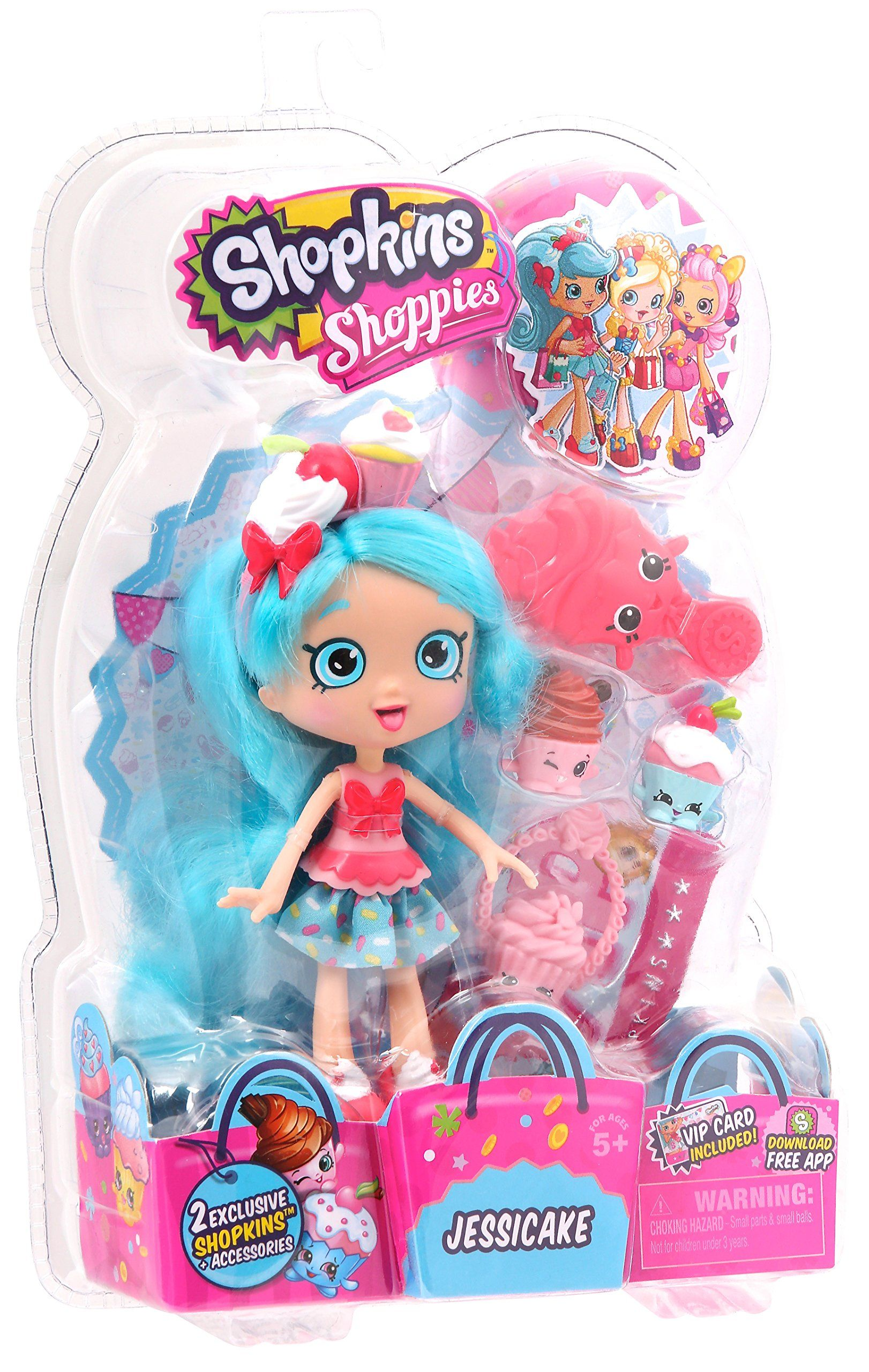 Shopkins Shoppies Jessicake Kids Pinterest