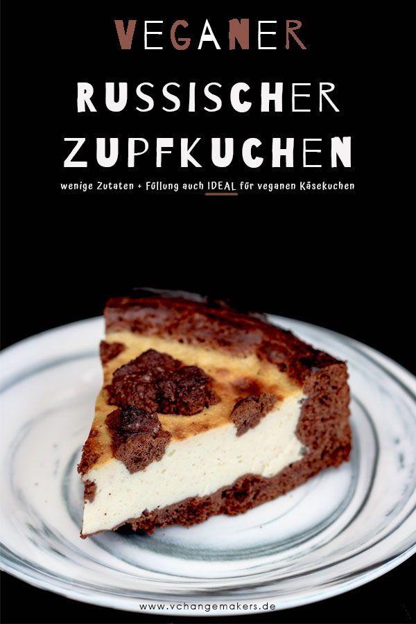 Rezept: Genialer Russischer Zupfkuchen vegan – Käsiges Schokoträumchen