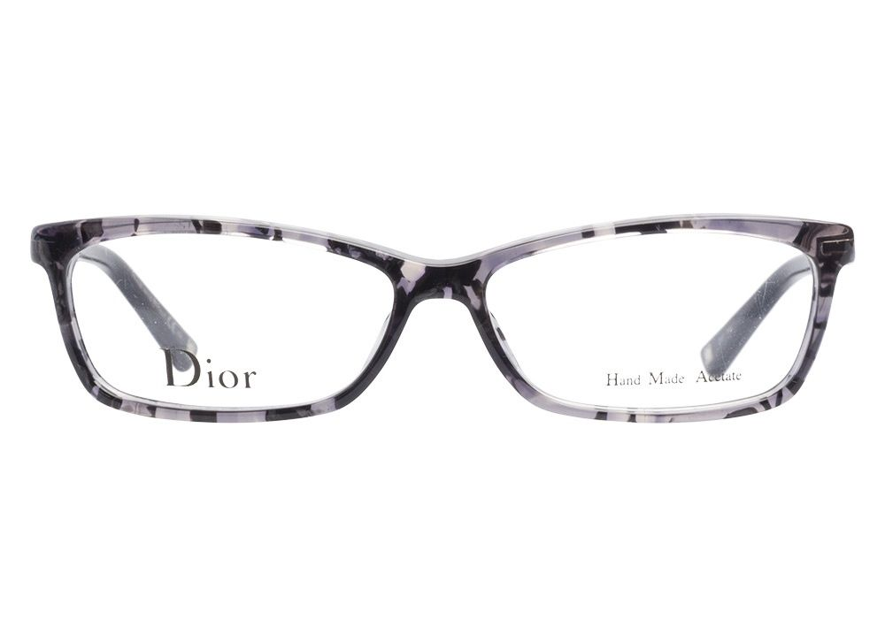 8758112e5fe Christian Dior 3209 8G7 Grey Black eyeglasses. Get low prices ...