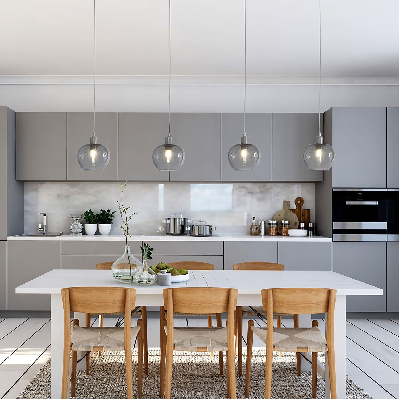 Pendelleuchte Lotus I In 2020 Deko Tisch Moderne Graue Küche Moderne Küchenideen