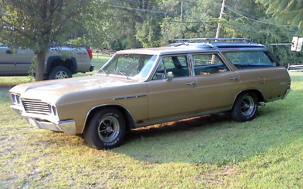Vista Cruiser Cousin: 1967 Buick Sports Wagon