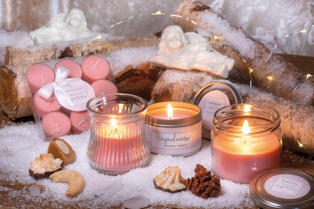 Zarte Schonheiten Mit Winterduften Duft Kerzen Christmasworld