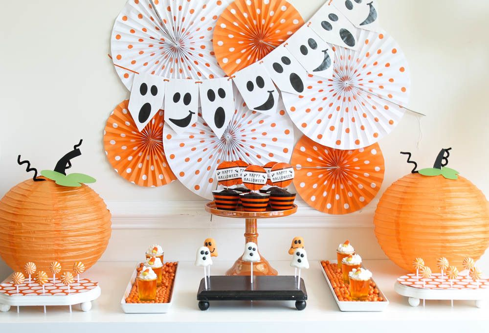 Birthday Boo Bash Birthdays and Halloween parties - kids halloween party decoration ideas