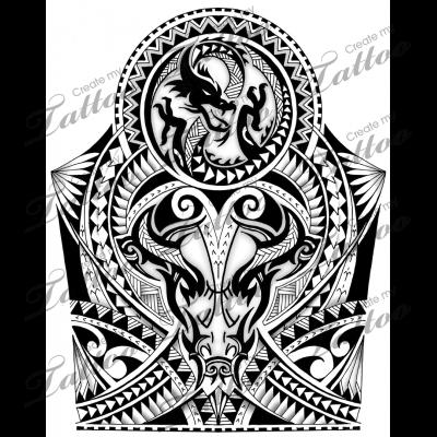 Polynesian Maori Shoulder Half Sleeve Tattoo Maori Tattoo Bull Tattoos Best Sleeve Tattoos