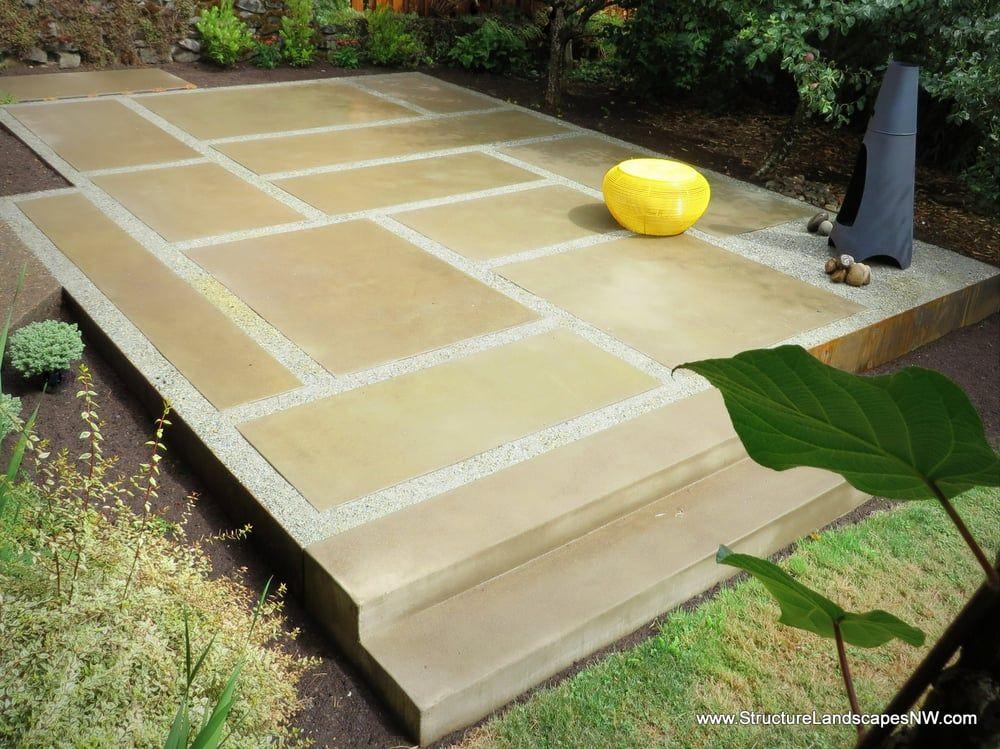 Complete Design/Build Custom Poured Concrete Pavers