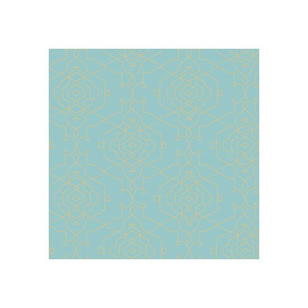 Home decor wallpaper turquoise