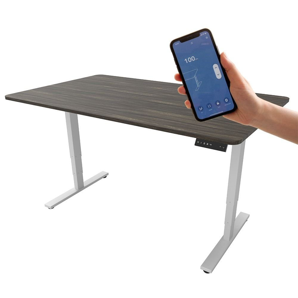 Happy Work Healthy Life Electric Height Adjustable Desk Lets You