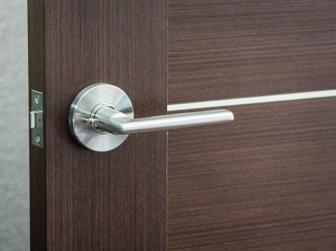Reparer Une Poignee De Porte Qui Grince Poignee De Porte Porte Interieur Moderne Portes Contemporaines