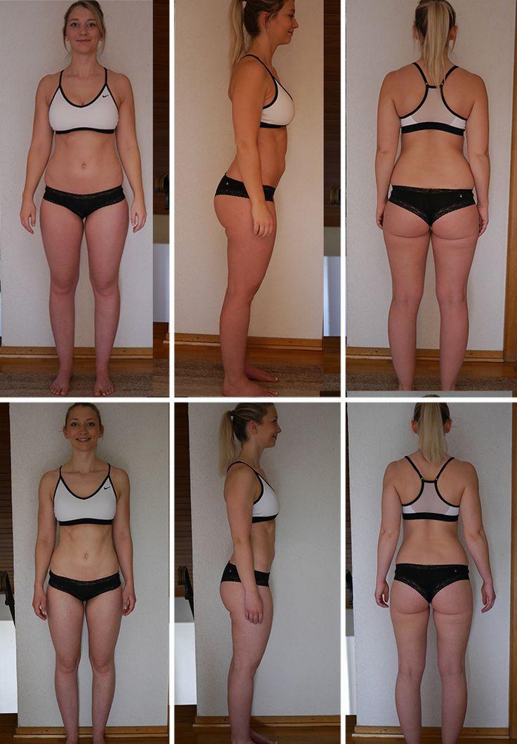 Mein Gewichtsverlust vorher und nachher