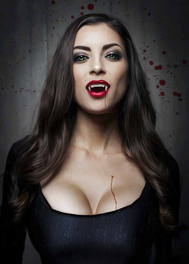 The v&ires of twilight saga true blood or the fangs are great. The v&ire costume could be quite sexy.  sc 1 st  Pinterest & Expert Tips for Creating a Sexy Halloween Vampire Look | Vampire ...