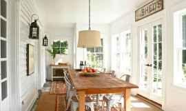 42 Cozy Farmhouse Sunroom Decor Ideas – Insidexterior – decorating ideas