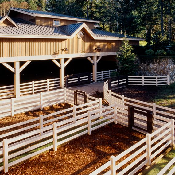 Indoor Riding Arena With Stalls: I Really Dig This. I Appreciate The Small Pens. Maybe You