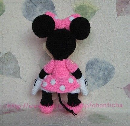 Nice Minnie Mouse Doll Crochet Pattern Sketch Easy Scarf Knitting