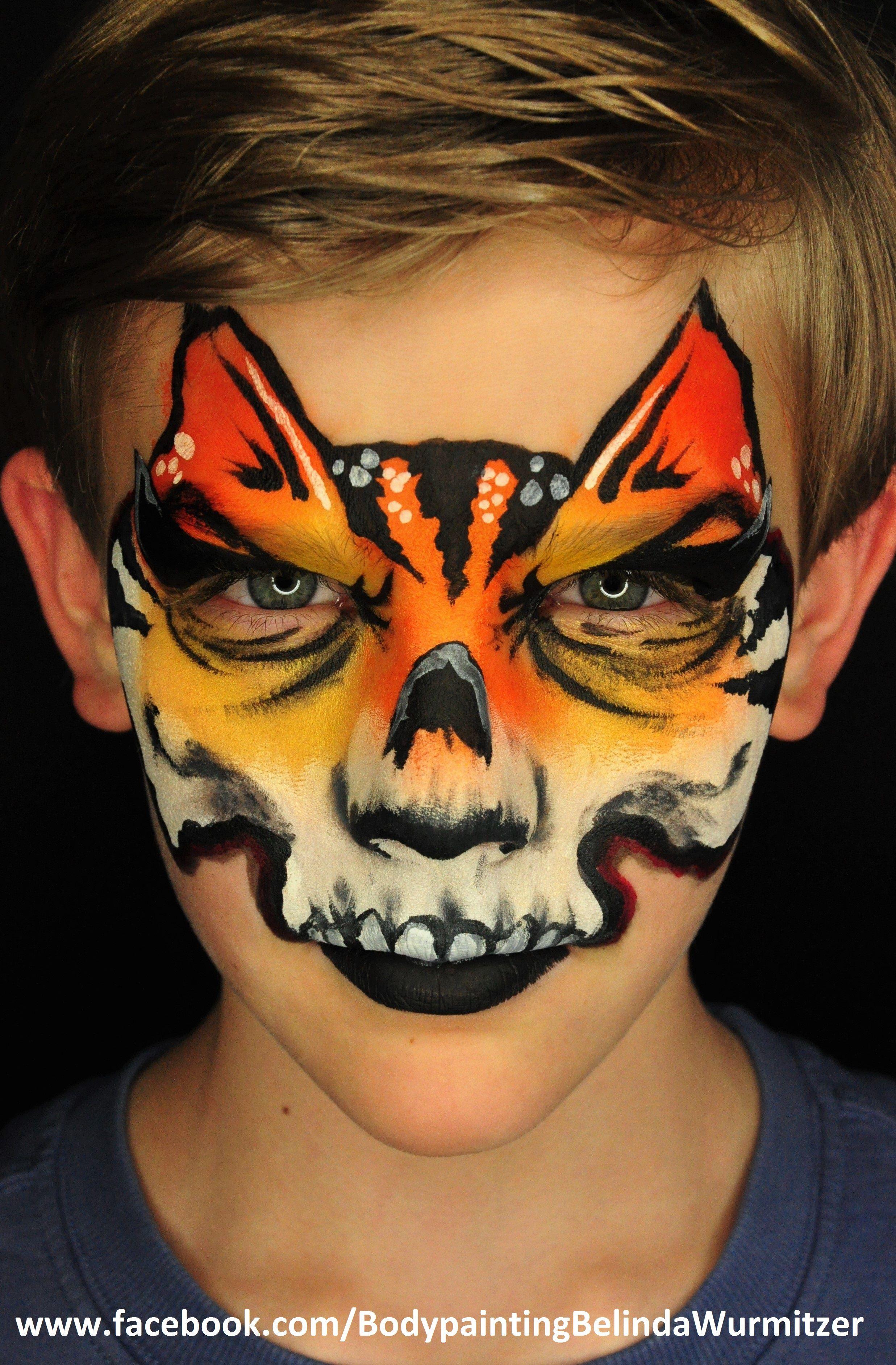 Artist Belinda Wurmitzer Face painting, Kids makeup