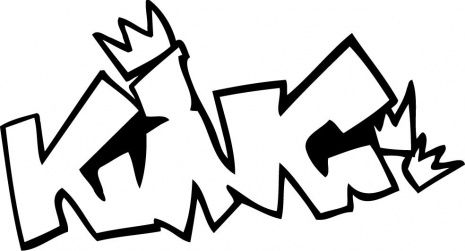 King Graffiti Coloring Page Free Printable Coloring Pages Graffiti Words Graffiti Lettering Graffiti King