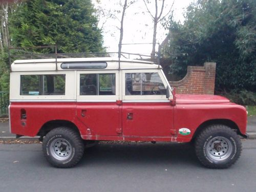 1968 Land Rover Series 2a LWB Safari Roof Station Wagon 5 Doors & 1968 Land Rover Series 2a LWB Safari Roof Station Wagon 5 Doors | On ...