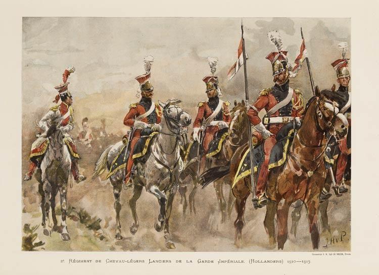 2e Régiment de Chevau Légers Lanciers de la Garde Impériale (Hollanders), 1810 1813 Jan Hoy