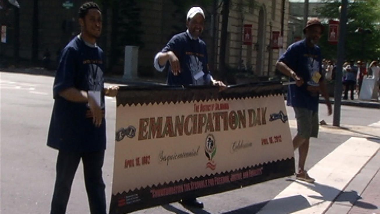 D.C. Celebrates Emancipation Day - April 16, 2015 - 11:00 parade.