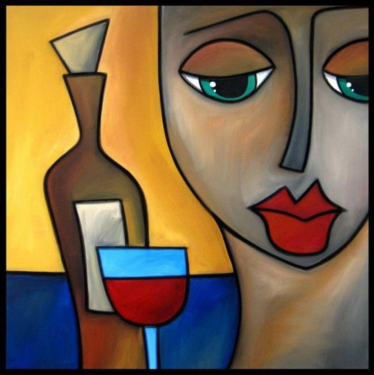 Rostros Modernos Expresiones Arte Expresiones Del Arte Dibujos Abstractos Pinturas Abstractas