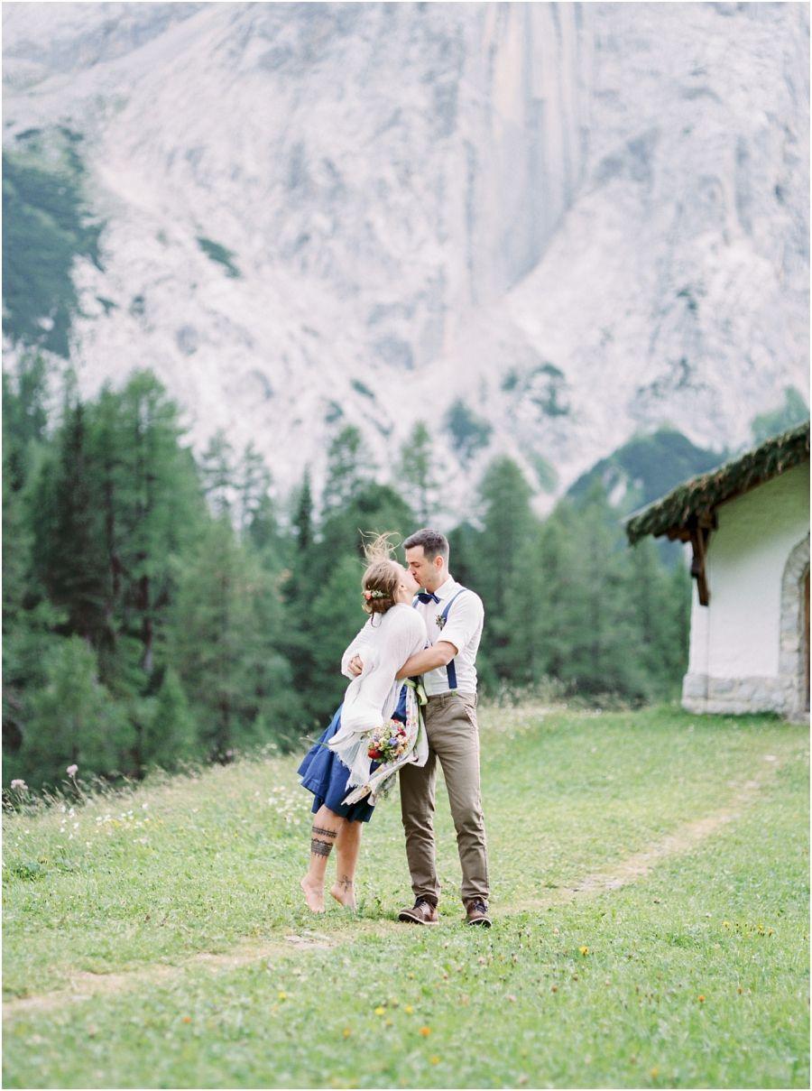 Sommerhochzeit auf der Halleranger Alm Karwendelgebirge