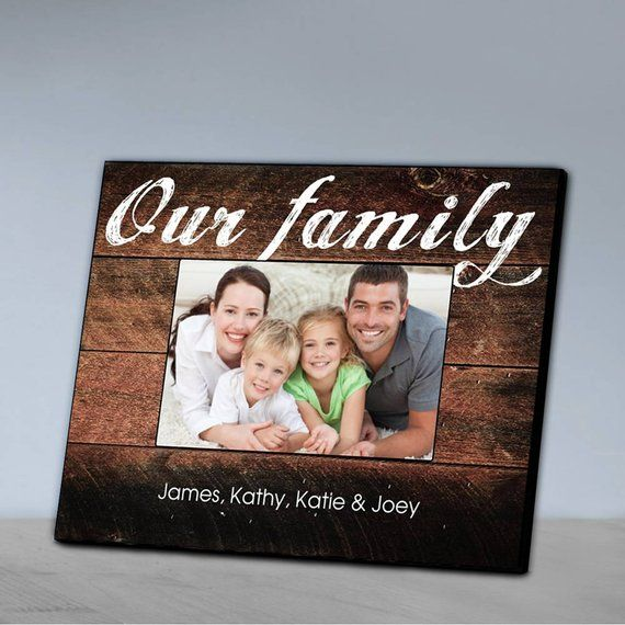 Personalized Our Family Picture Frame Family Photo Frames Family