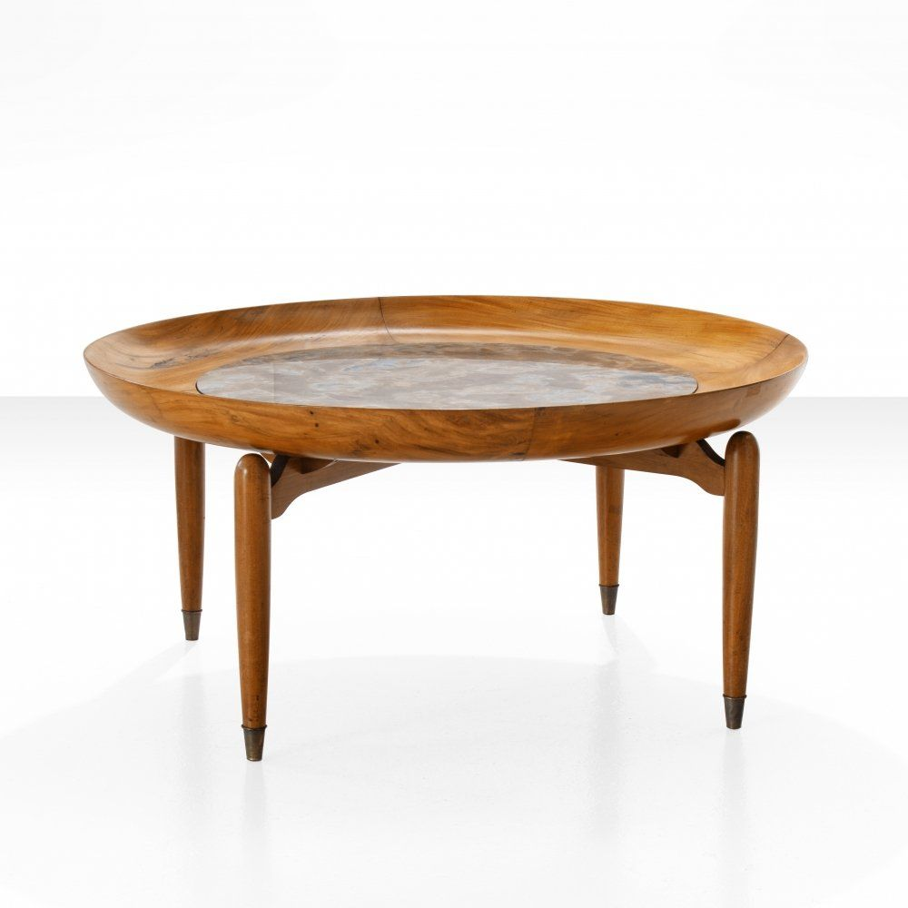For Sale Giuseppe Scapinelli Round Coffee Table In Caviuna Marble Brazil 1960s Round Coffee Table Coffee Table Table [ 1000 x 1000 Pixel ]