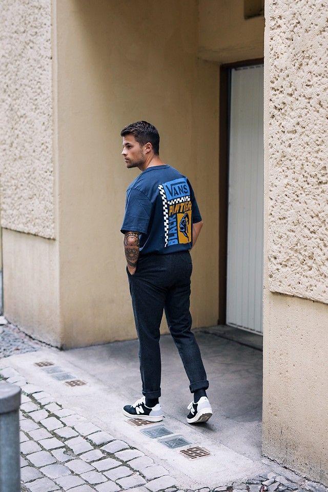 tendencias masculinas primavera verão 2019 Camisa ou Camiseta por dentro da  Calça