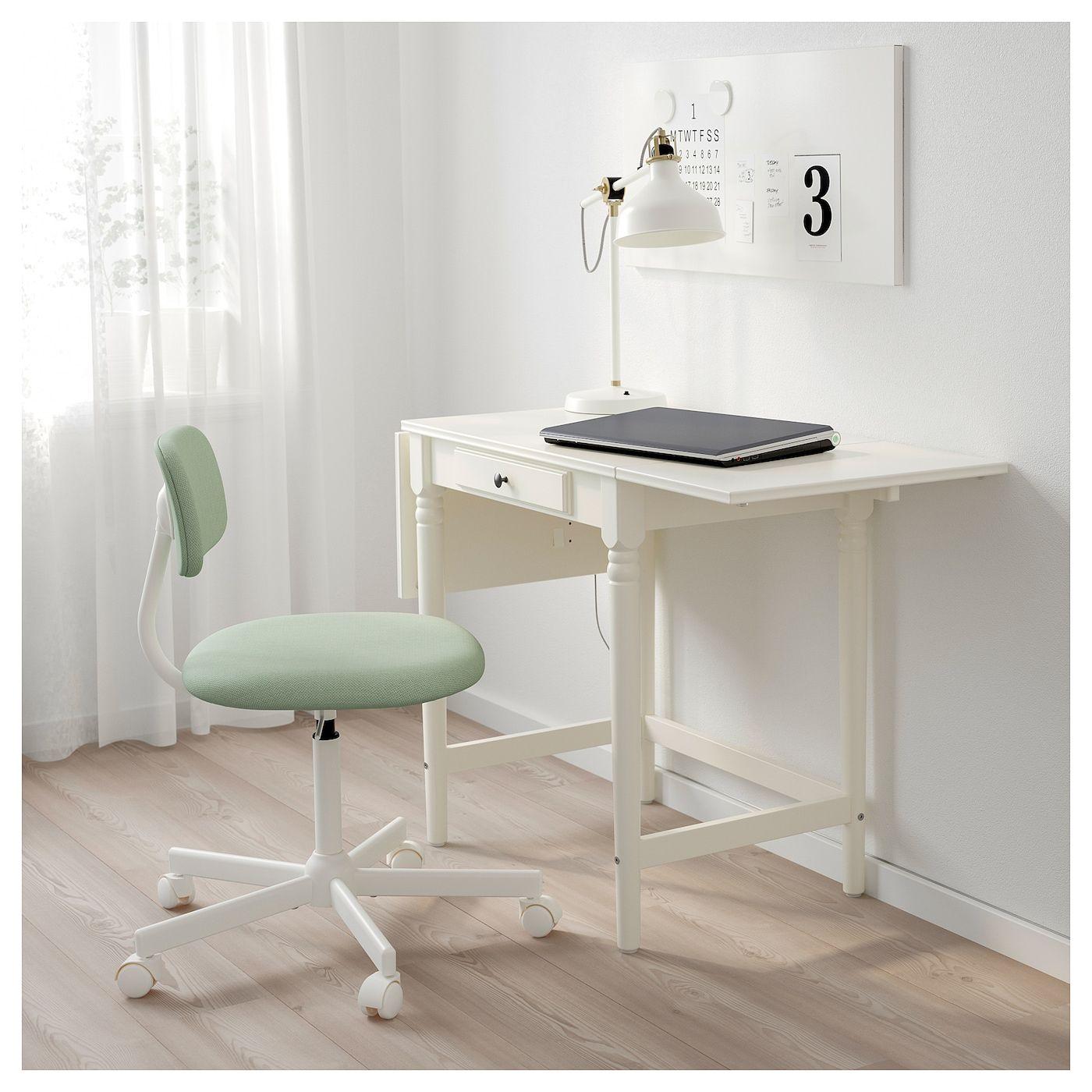 Scrivania Con Cassettiera Ikea ingatorp scrivania - bianco 73x50 cm | scrivania ikea