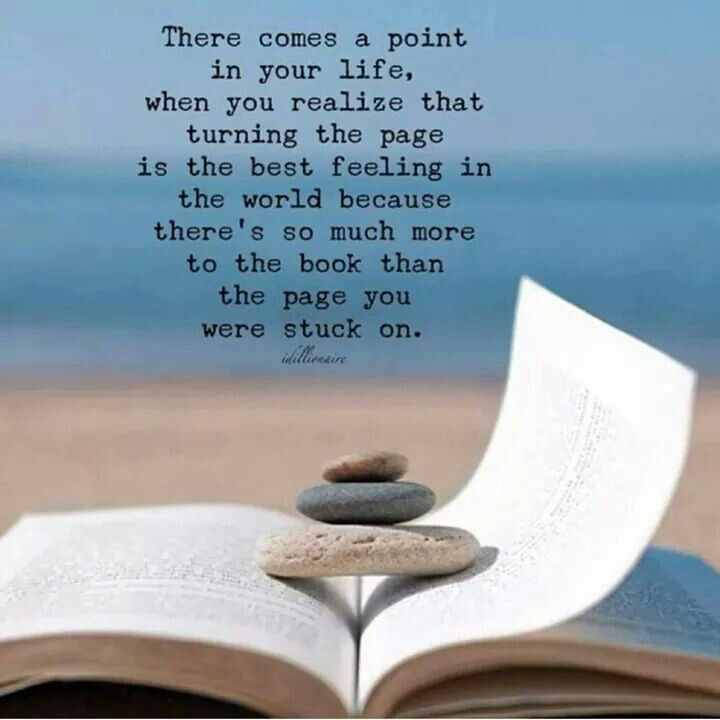 Just turn the page   Feeling stuck, Feelings, When you realize