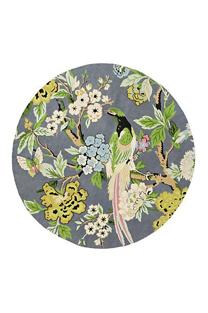 Conure Rug, Round #anthropologie