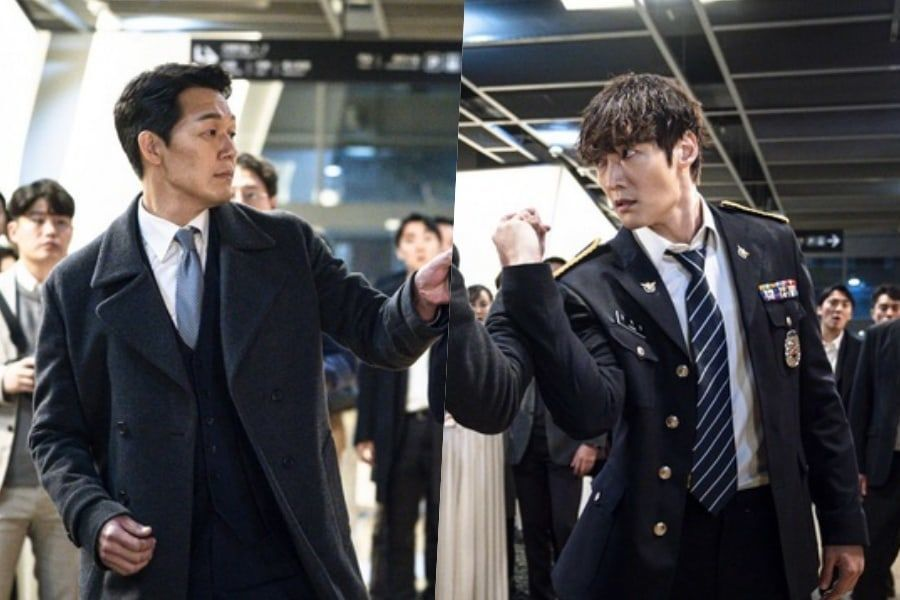 "Choi Jin Hyuk Has A Charged First Encounter With Park Sung Woong In ""Rugal"""
