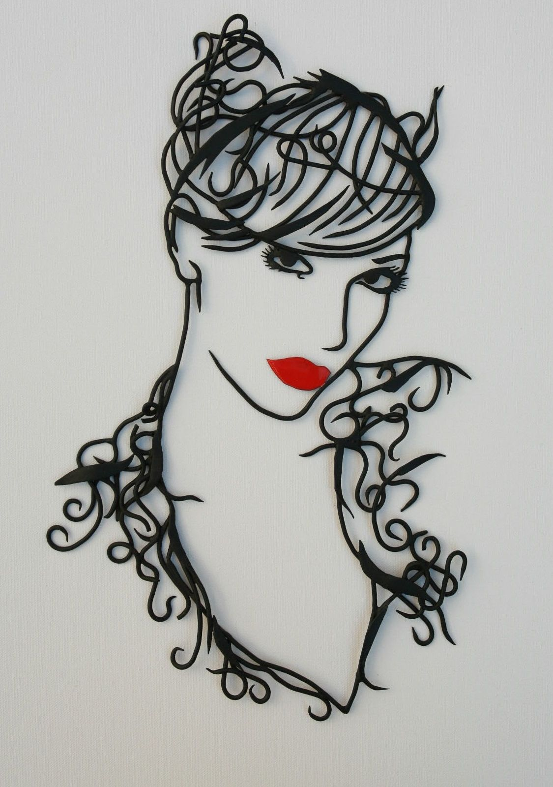 Pin by Ismael Busgeeth on silho | Pinterest | Wire art, Quilling and ...
