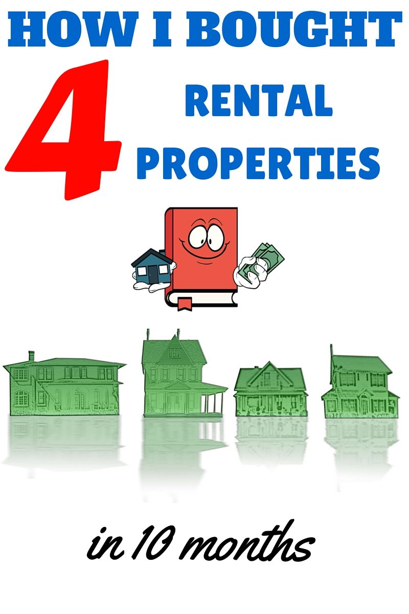 How I Bought Four Rental Properties In 10 Months Real Estate Investing Rental Property Real Estate Investing Rental Property Investment