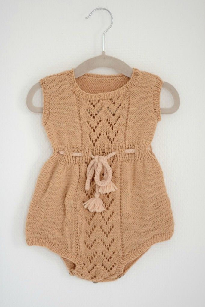 Vintage Baby Romper Vintage Baby Clothes Knitted Baby