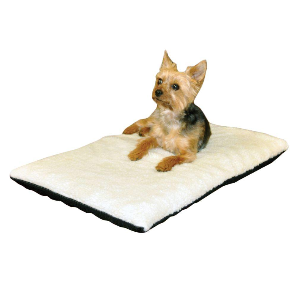 K H Pet Products Ortho Thermo Medium Cream Non Slip Heated Dog Bed