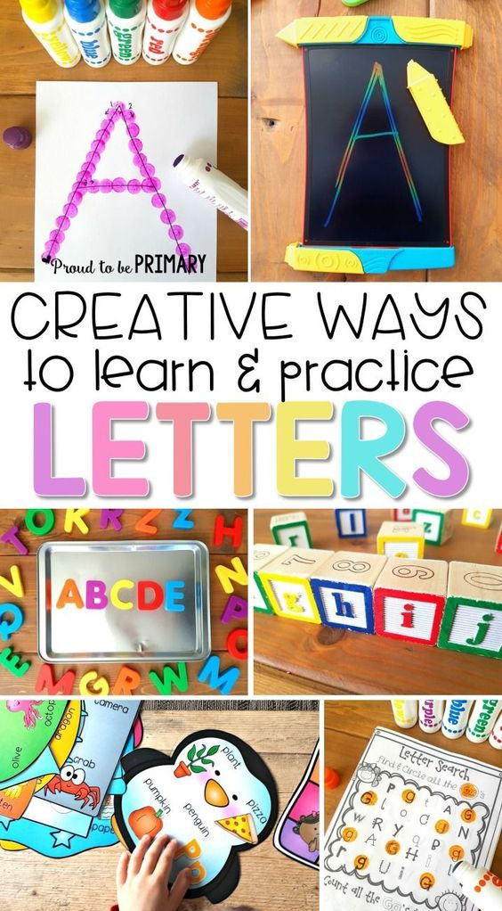 Creative and Engaging Ways to Teach Letter Recognition | Alphabet