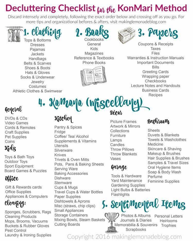 Minimalist Bathroom Checklist: Pin By Michelle Stefani On Tidying Up