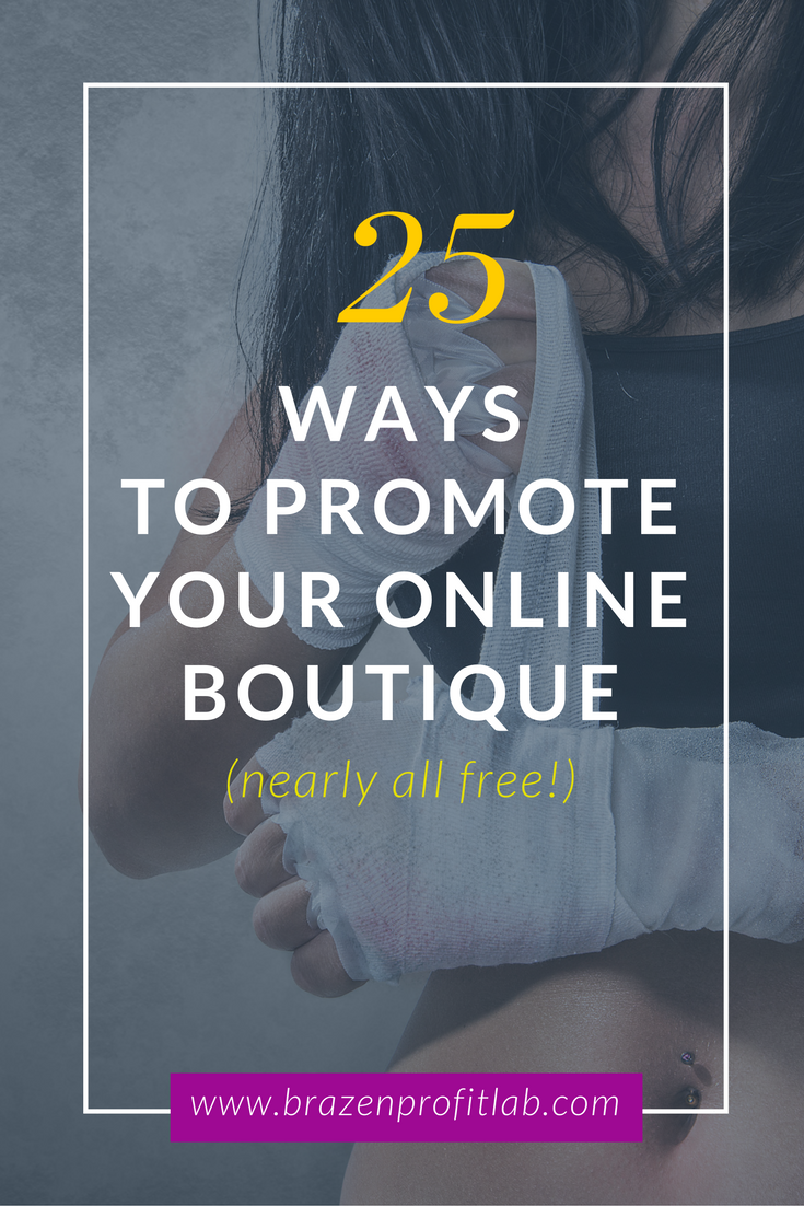 How to promote a store 25
