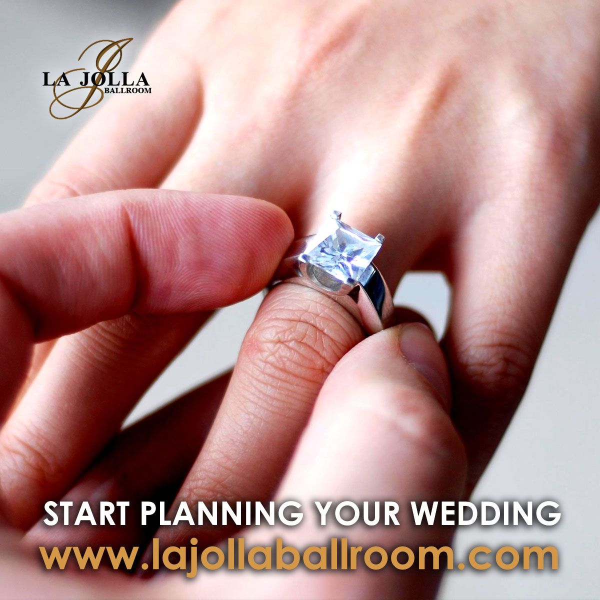Call us to start planning your wedding at La Jolla Ballroom the best ...