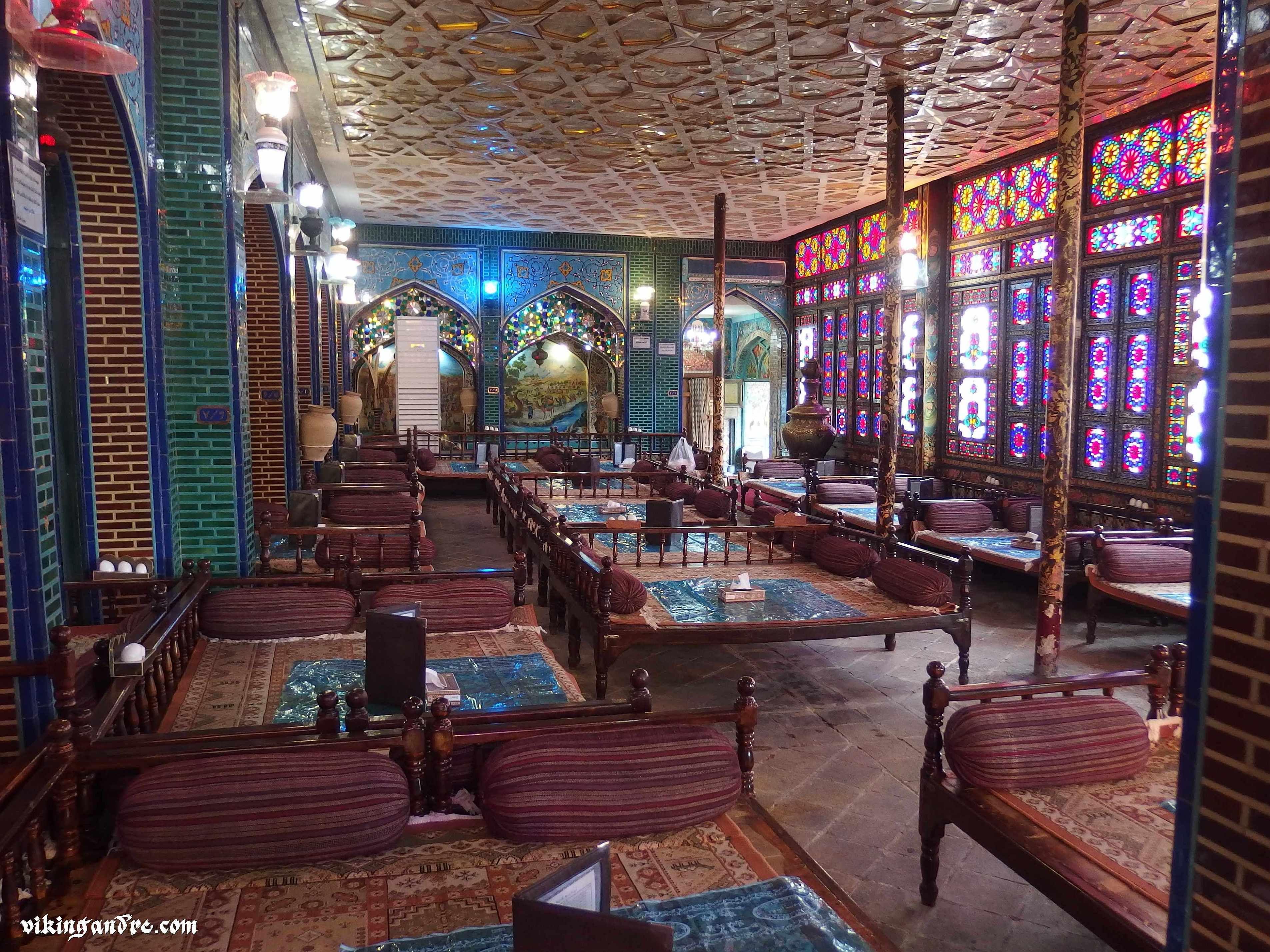 naghshe jahan traditional restaurant, isfahan, iran (andrea, 2017