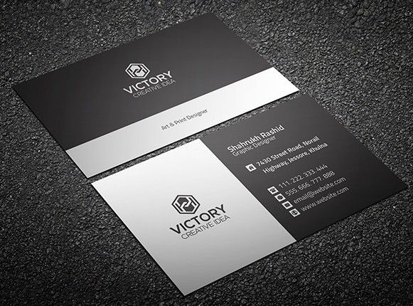 Graiht corporate business card template psdg 581430 graiht corporate business card template psdg 581 fbccfo Images