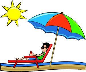 Cartoon Beach Clip Art   Beach Clip Art Images Beach Stock ...