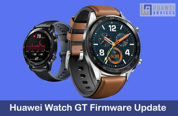 Huawei Watch GT 1 0 8 34 Firmware Update: Brings Always-On