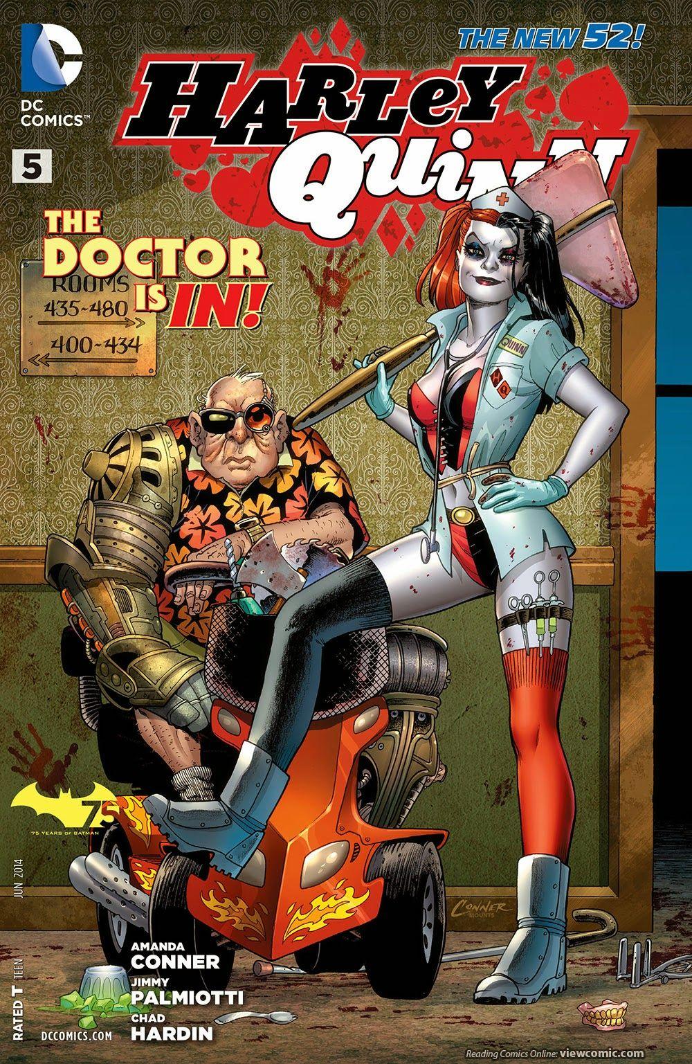 harley quinn 005 2014 viewcomic reading comics online