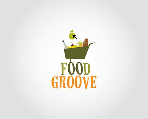 Food Groove By Samadarag On Deviantart Shop Logo Design Online Grocery Store Logo Food