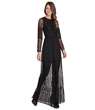 BCBGeneration Cutout Lace Dress #Dillards