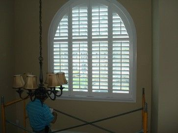 Foyer Window Quotes : Foyer window treatment traditional blinds for the home