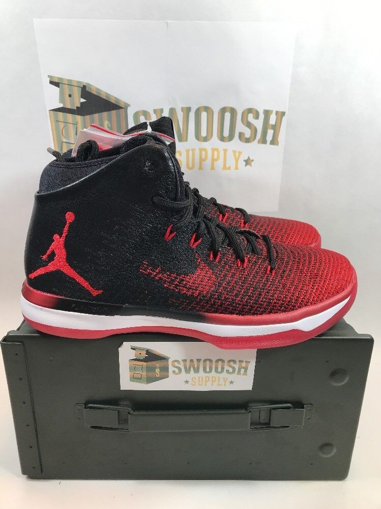 the latest 7d1a9 9d125 Nike Air Jordan 31 XXXI Banned Bred Black University Red Retro 845037-108  sz 8  Nike  AthleticSneakers