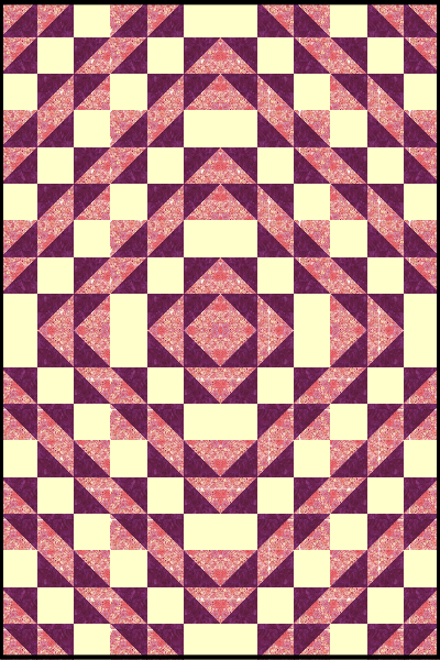 Three and Six Quilt Pattern #softwaredesign