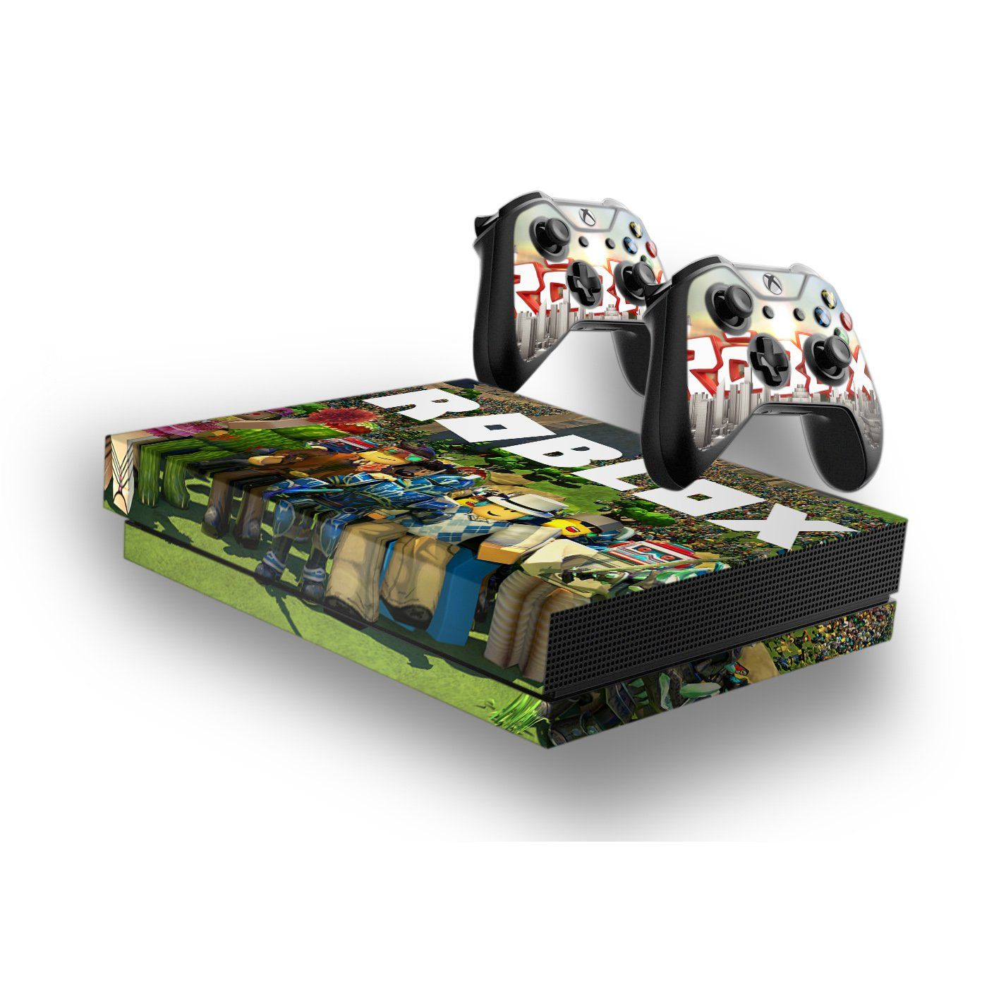 Roblox -Protective Vinyl Skin Decal Cover for Xbox One X